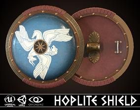 3D model Hoplite Shield Sphinxes