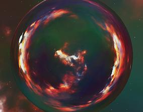 Nebula Space Environment HDRI Map 004 3D model