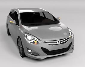 3D model HYUNDAI I40 LOWPOLY
