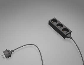 Multi Socket 3D Model
