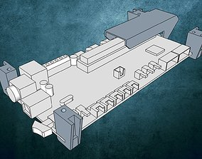 3D print model Ultimaker 2 Mainboard Bracket