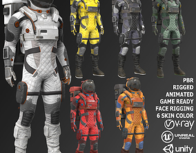 3D model MX02 Male Space Suit