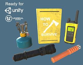 Survival Realistic Props Pack 3D asset