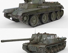 Tank Collection Vray 002 3D