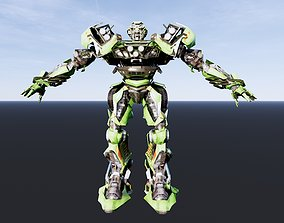Robot transforms Ratchet 3D printable model