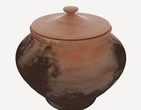 3D model Clay Pot var 2