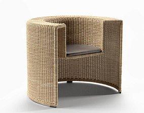 Charlotte Chair 3D model