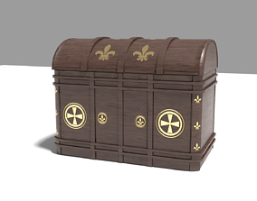 3D model animated models CHEST