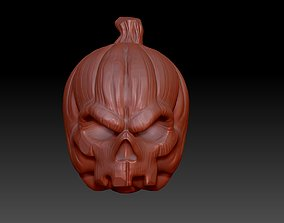 3D print model october Pumpkin
