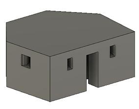 Type 24 Pill Box for OO Gauge Model Railway