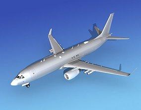 3D model Boeing P-8 Poseidon Bare Metal