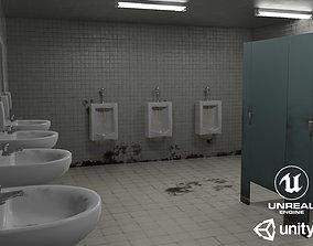 Dirty Restroom Pack 3D asset