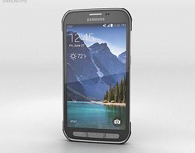 Samsung Galaxy S5 Active Titanium Grey 3D model