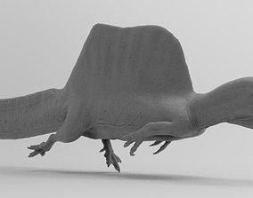 3D printable model spinosaurus