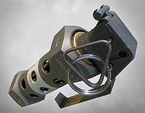 3D model M84 Stun Grenade PBR