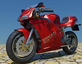 3D Ducati 916 Mental ray
