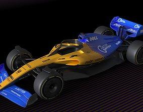 3D model f1 McLaren 2021 - 2023 concept