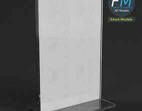 Table tent template 3 3D