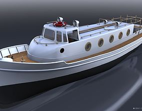 Motorboat WW2 Italian Navy 3D