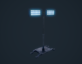 3D asset Light Stand