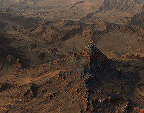 3D Mars Surface surface
