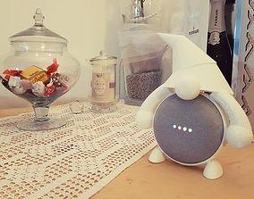 google home mini gnome support 3D print model