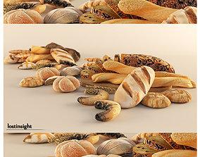 3D model Bread Cravings