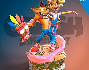 Crash Bandicoot 3D printing ready fanart