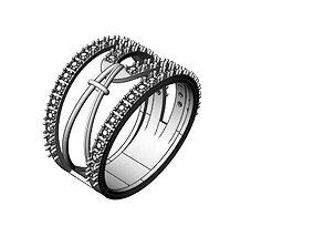 3D printable model Ring Belt stones