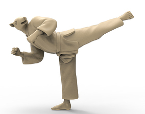 3D printable model Rat Back Kick