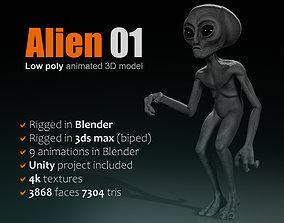 Alien 01 3D model