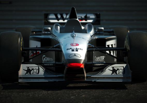 McLaren MP4/12 Mercedes