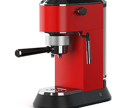 eating Coffee Machine 3D Model