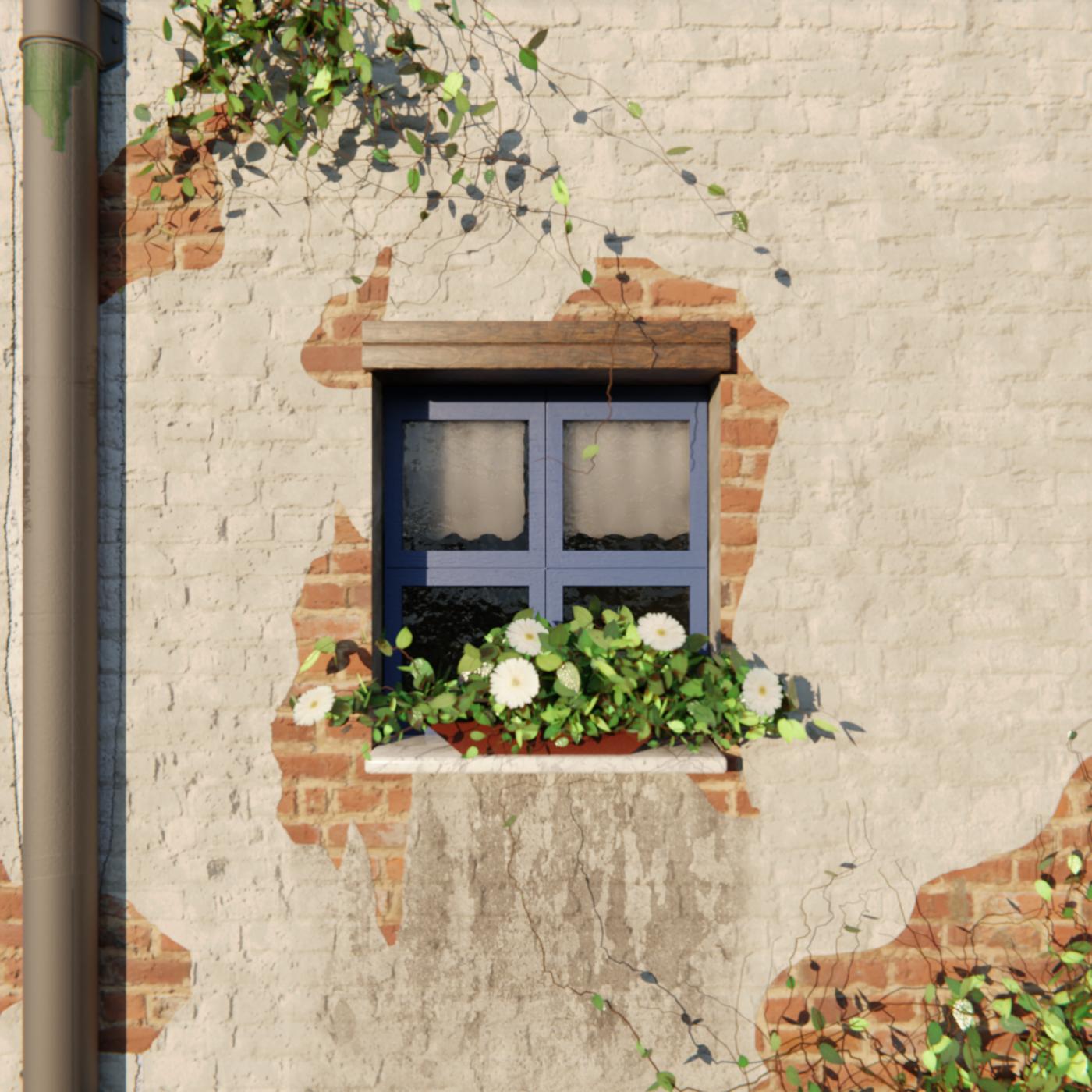 Window Scene Remastered