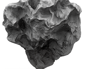 Meteor Asteroid Rock 3D model