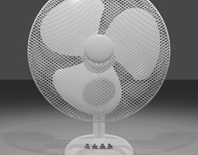 electric 3D model Table fan