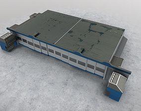 3D model EGKK Hangar 1
