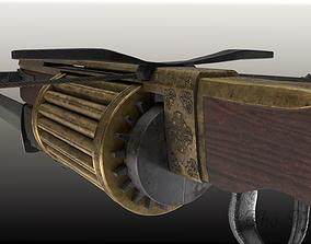 Rapid fire crossbow v04 3D