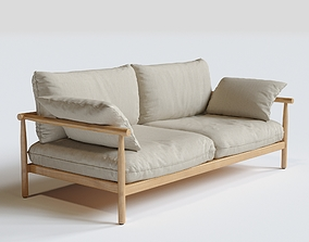 3D model DEDON Tibbo 2-SEATER Sofa