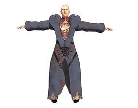 3D asset Sorcerer Character