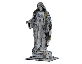 3D asset Jesus Sculpture Monument