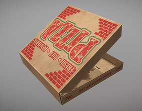 3D asset Pizza Box