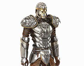 3D Medieval Armor Lion gladiator