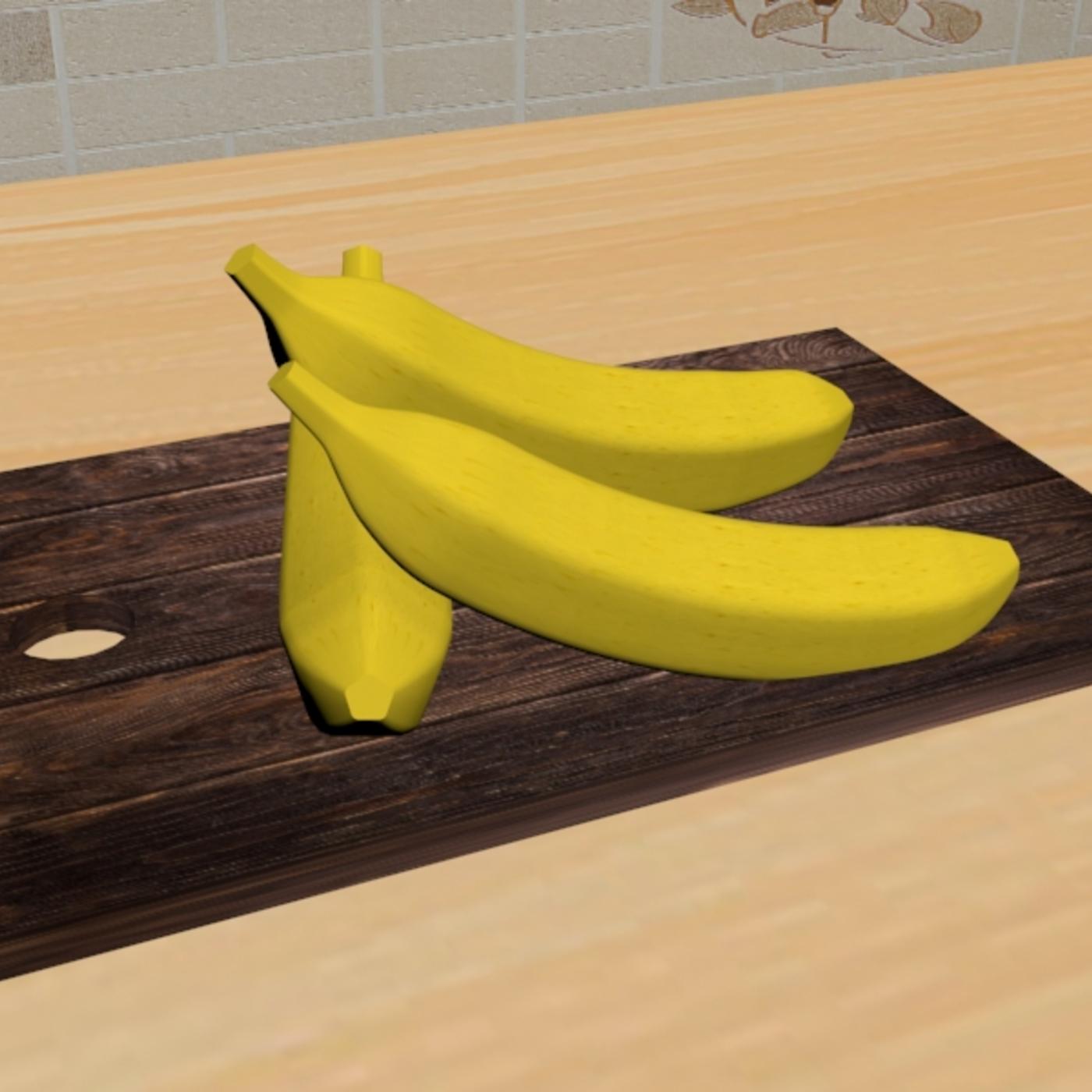 Banana on desk