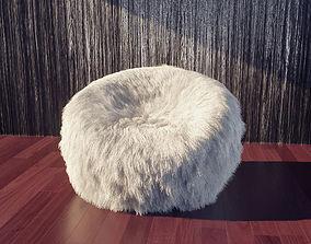 Woolen Armchair 3D