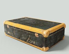 accessories Vintage Suitcase Retro Valise 3D model realtime