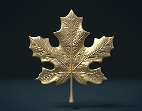 Maple Leaf flora 3D printable model