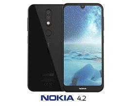 3D model Nokia 4 2