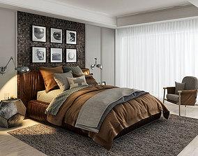 sleep bed 3d model