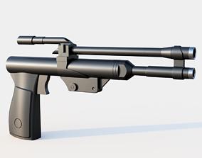 New Boba Fett Blaster 3D printable model